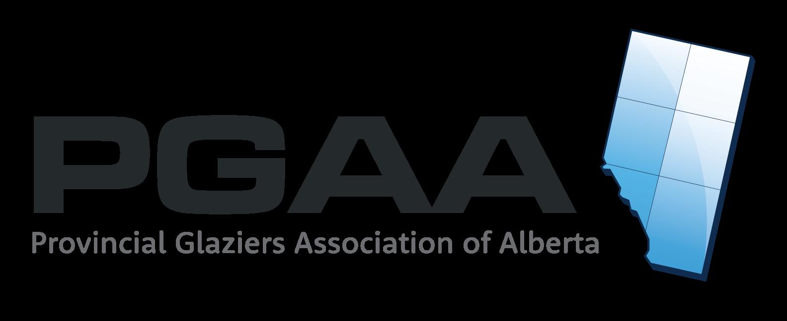 Logo for Provincial Glaziers Association of Alberta